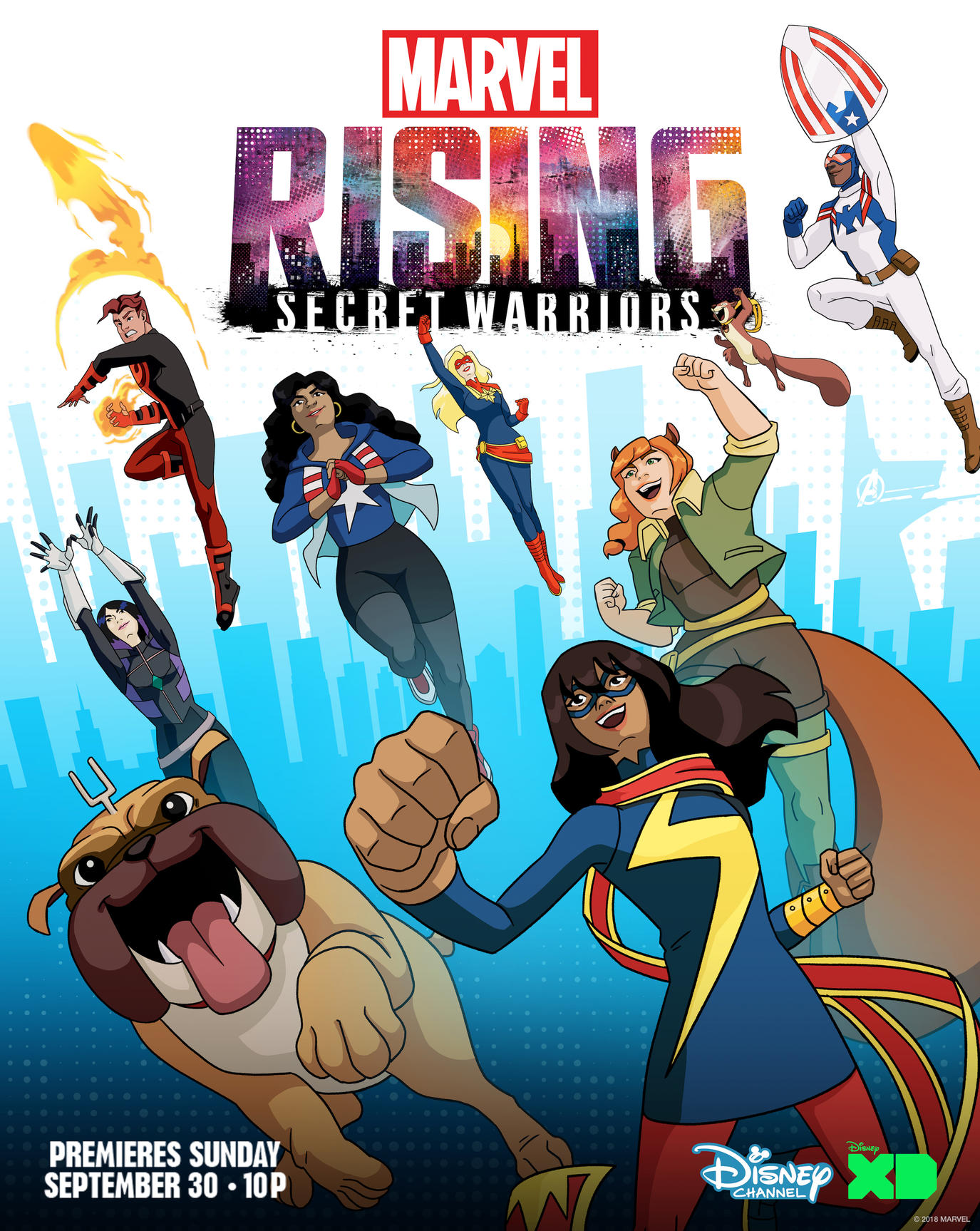 Marvel Rising Secret Warriors Traz As Hero 237 Nas Da Marvel